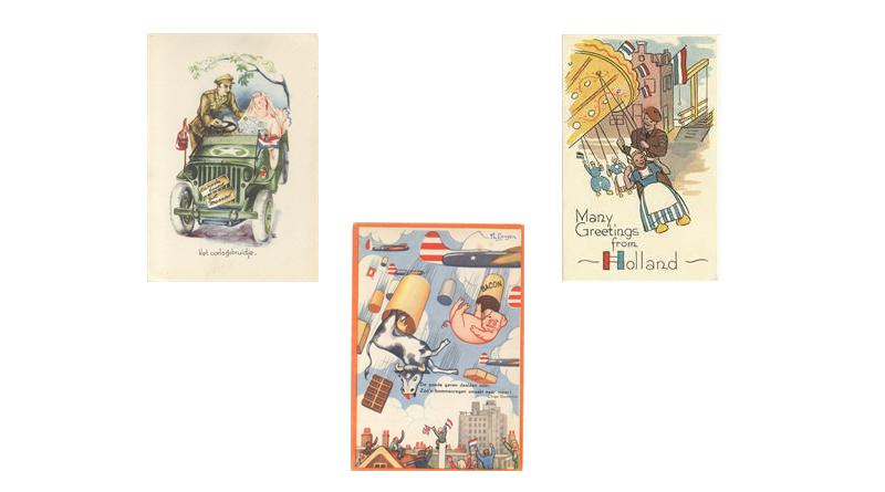 Bevrijdingsmuseum Groesbeek zet bijzondere ansichtkaarten online