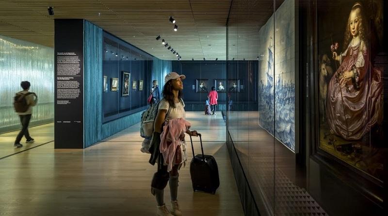 Rijksmuseum terug op Amsterdam Airport Schiphol